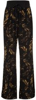 OSKLEN laurel print silk pants