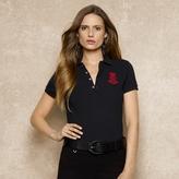 Ralph Lauren Blue Label Cotton Mesh Patch Polo Shirt