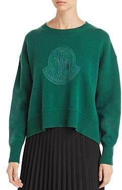 Moncler Velvet Logo Sweater