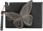 Sophia Webster studded butterfly clutch