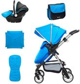 Silver Cross Wayfarer Complete Travel System - Sky Blue