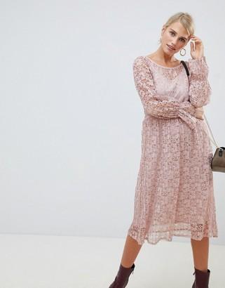 Vila lace smock dress