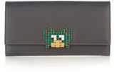 Anya Hindmarch Space Invader Bathurst leather wallet