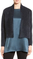Eileen Fisher Women's Plush Crop Cardigan