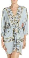 Flora Nikrooz Women's 'Kayla' Floral Print Crepe Kimono