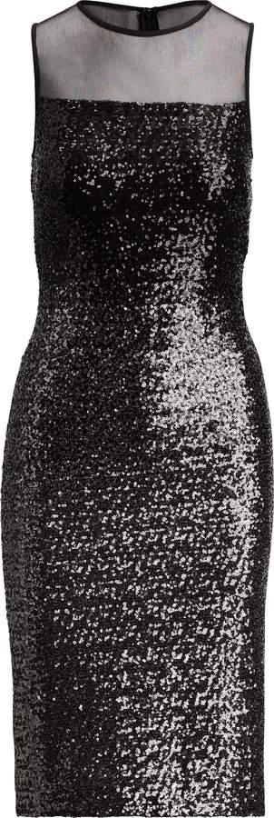 Ralph Lauren Sequined Cocktail Dress