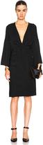 Rosetta Getty Kimono Twist Dress