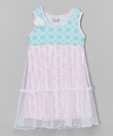 Flap Happy Seahorse Parade Savannah Dress - Toddler & Girls