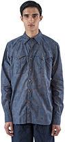 Kolor Men's Camo Long Sleeved Shirt In Grey