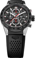 Tag Heuer CAR201V.FT6087 Carrera stainless steel and ceramic chronograph watch