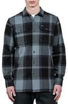 Volcom Heavy Daze Plaid Flannel Shirt Jacket
