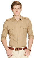 Polo Ralph Lauren Slim-Fit Twill Utility Shirt