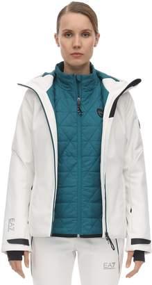 Emporio Armani Ea7 Padded Ski Jacket Vest & Pants