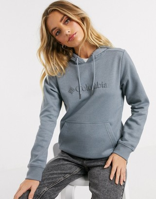 Columbia Logo hoodie in gray