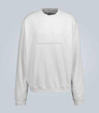 Maison Margiela Oversized reverse logo sweatshirt