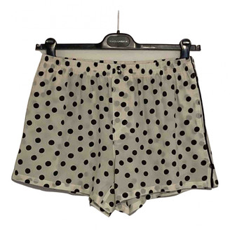 Dolce & Gabbana White Other Shorts