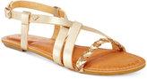 Roxy Tigres Braided Gladiator Sandals
