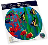 Bed Bath & Beyond Toilet Tattoos® Under the Sea Round Decorative Applique