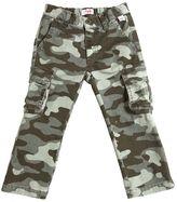 Il Gufo Camouflage Cotton Gabardine Cargo Pants