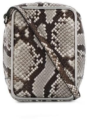 Alexander Wang Snakeskin Effect Shoulder Bag