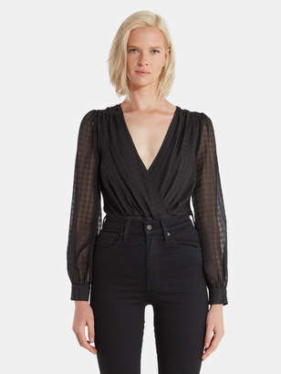 4SI3NNA the Label Louella Cross Front Bodysuit