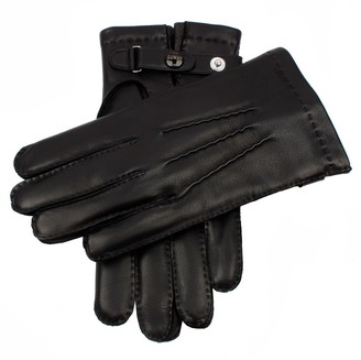 Dents Gloves Dents Hatfield Black Leather Gloves