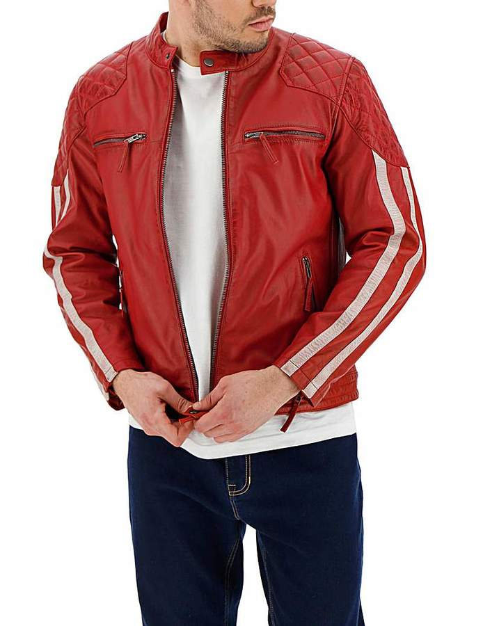 7d4502b48 Leather Biker Jacket