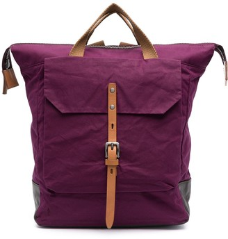 Ally Capellino Front-Flap Backpack