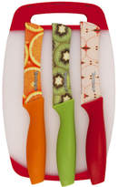 Hampton Forge Tomodachi Print Fruit Knife and Cutting Board Set