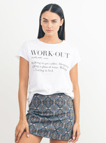 Junk Food Clothing Work Out Tee-elecw-s