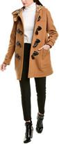 Burberry Duffle Wool-Blend Coat