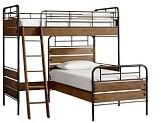 Pottery Barn Kids Owen Loft & Twin Bed Set