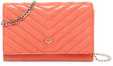 Botkier Soho Convertible Quilted Leather Chain Strap Wallet