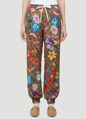 Gucci GG Floral Supreme Track Pants