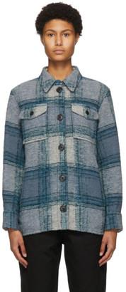 Etoile Isabel Marant Blue Gastoni Jacket