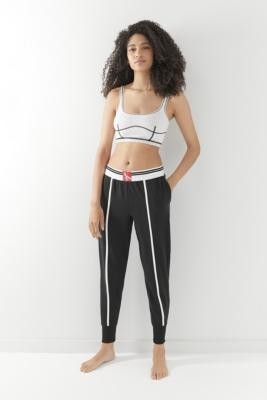 Calvin Klein One Contrast Lounge Joggers - Black XS at Urban Outfitters