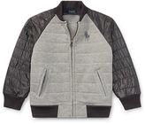 Ralph Lauren 2-7 Quilted Cotton Baseball Jacket