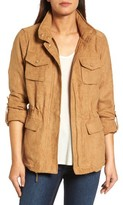 Vince Camuto Women's Faux Suede Utility Jacket