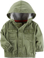 Osh Kosh Oshkosh Olive Surplus Jacket Boys Midweight Field Jacket-Baby