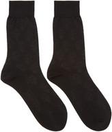 Alexander McQueen Black Skulls Socks