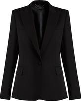 Stella McCartney Single-breasted wool tuxedo jacket