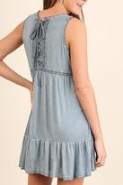 Umgee USA Washed Babydoll Dress