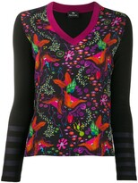 Paul Smith floral pattern jumper