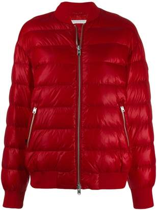 Woolrich quilted bomber jacket