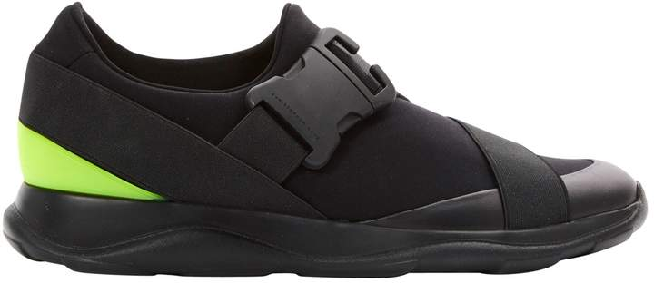 Christopher Kane Black Synthetic Trainers