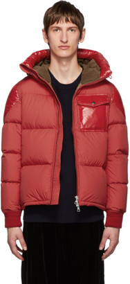 Moncler Red Down Eloy Jacket