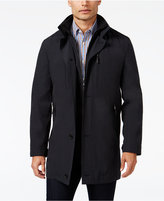 MICHAEL Michael Kors Men's Slim-Fit Attached-Bib Rain Coat