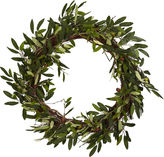 Asstd National Brand Nearly Natural 20 Olive Wreath