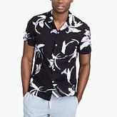 J.Crew Factory Slim-fit printed camp-collar shirt