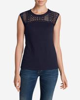 Eddie Bauer Women's Crochet T-Shirt